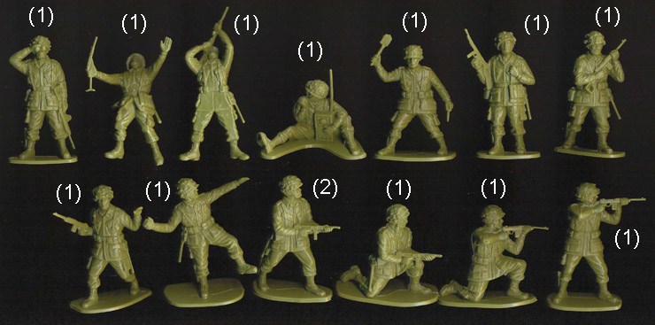 all figure poses